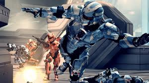 Halo 4 Red versus Blue Competitive War Games