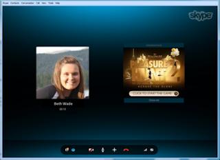 Skype introduced a Conversation Ads