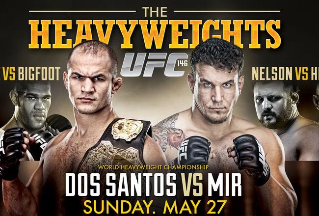 Resultados UFC 146 - Dos Santos vs Frank Mir