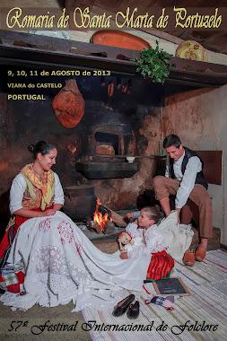 Cartaz da Romaria de Santa Marta 2013