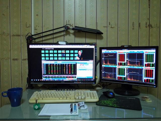 雙螢幕 看股票 看盤