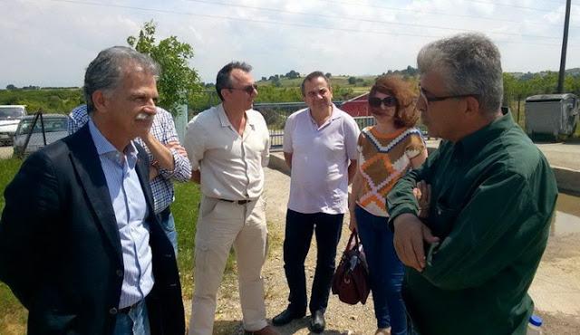 Ο βουλευτής του Ποταμιού Σπύρος Δανέλλης στην Αλεξανδρούπολη