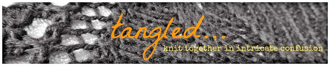 tangled...