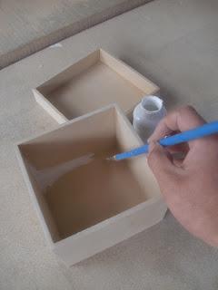 Decoraciones manualidades en madera pintado de cajita de - Manualidades pintar caja metal ...