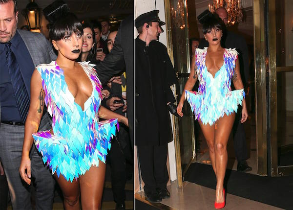 lady gaga weirdest dress outfit