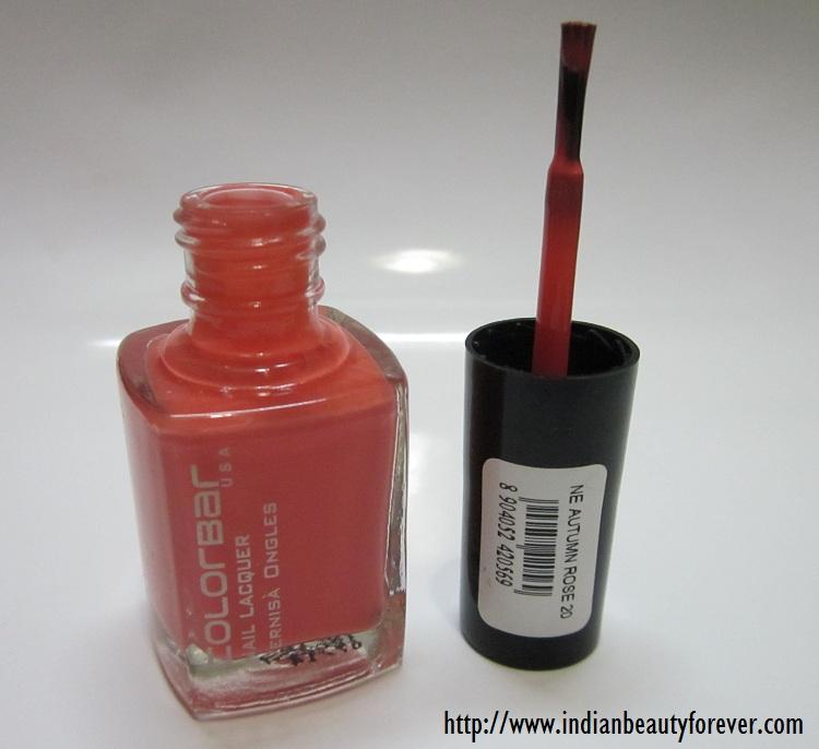 colorbar nail paint