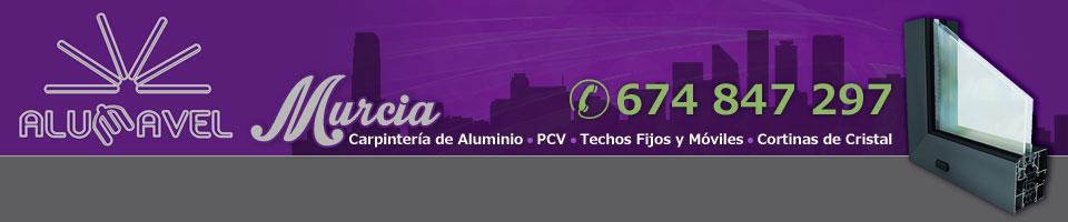 Cerramientos en Murcia - 674 847 297 - ALUMAVEL - Cortinas de cristal, toldos, ventanas etc.
