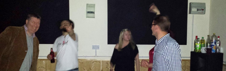 Drunken dancing