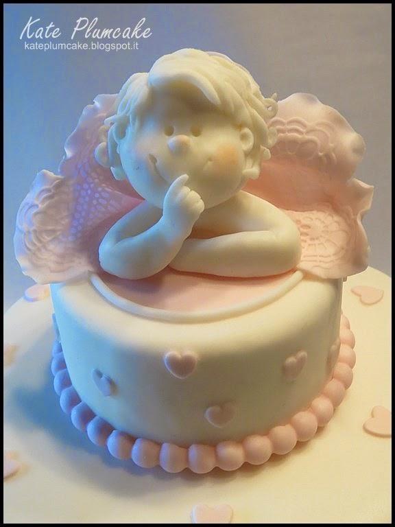 torta battesimo - christening cake