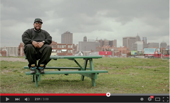 Vídeo - Rapper Big Pooh - Augmentation (prod. Apollo Brown)
