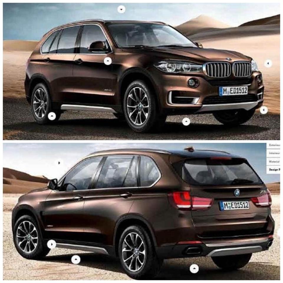 Bmw Xs5: Automobiles: New BMW X5 2014