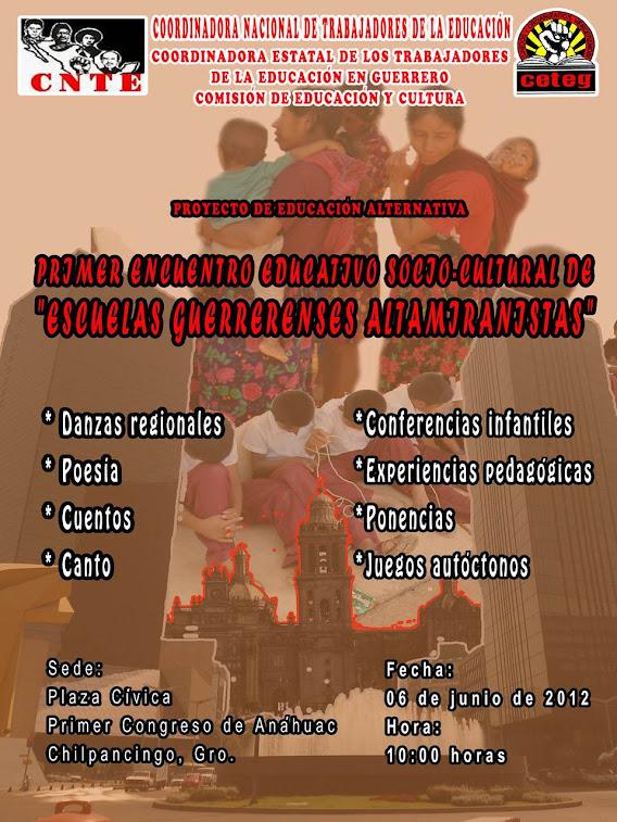 """PRIMER ENCUENTRO """" ESCUELA ALTAMIRANISTAS"""""""