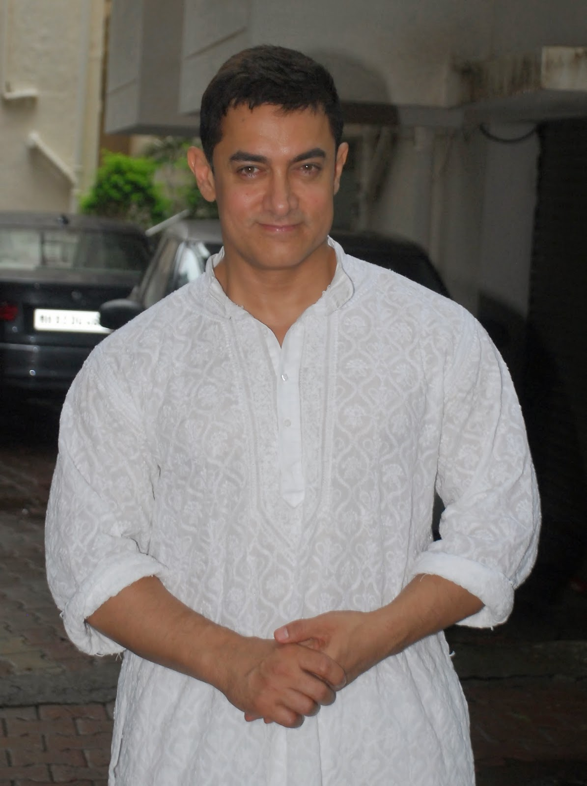 Aamir Khan celebrate Eid