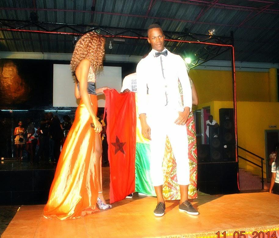 Jorge Lopes wins Mister Guine-Bissau 2014