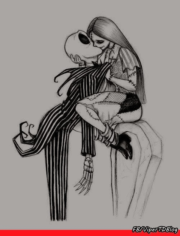 Jack Skellington e Sally