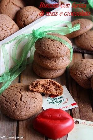 Biscotti farina di mais