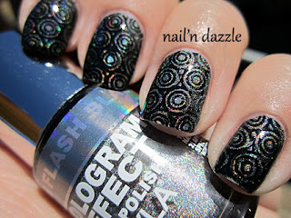 layla holo, holographic, polish, flash, black, bundle, monster, stamped, konad, black
