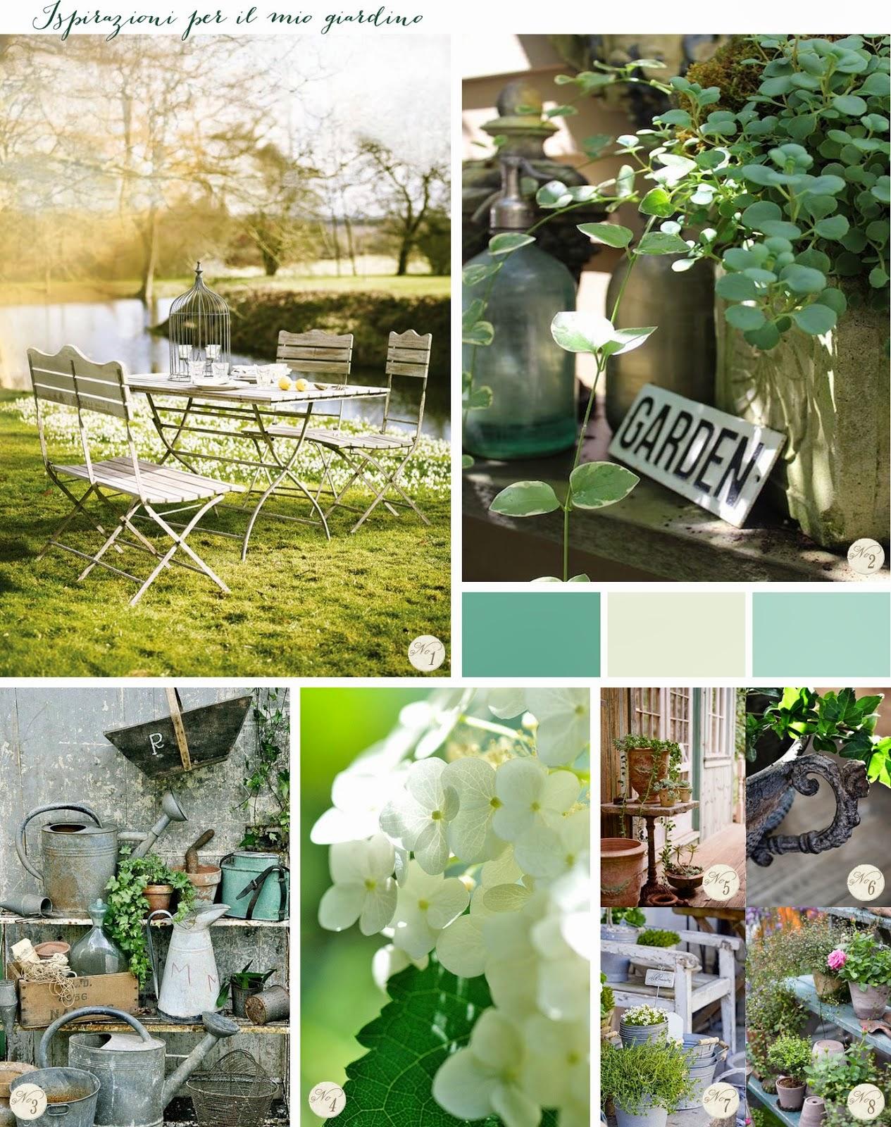 Jardin shabby shabby chic garden decoration img img for Le style shabby chic