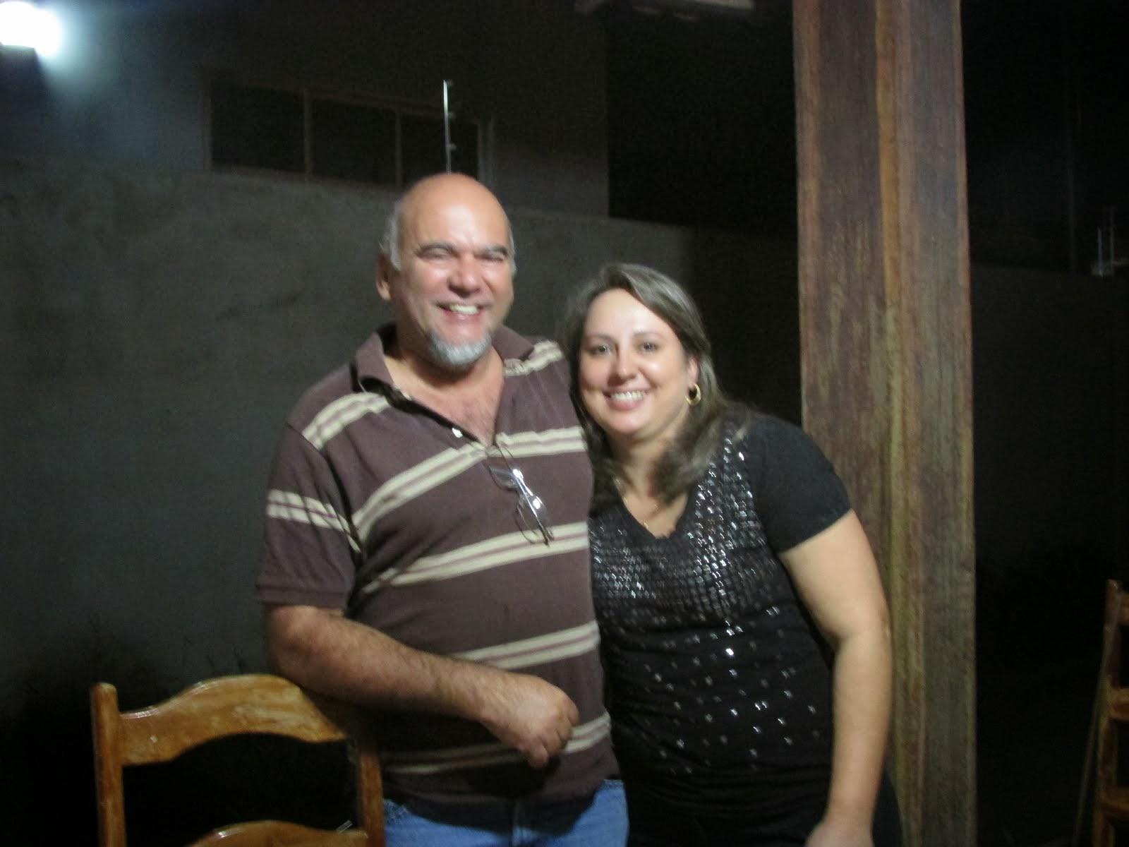 """Estamos na graça e agora """"Reunidos na Comunidade Boas Novas"""" em Barreiras, Bahia."""