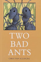 bookcover of TWO BAD ANTS by Van Allsburg