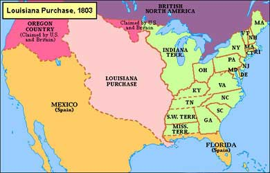 What If The US Kept The Articles Of Confederation - Us timeline map