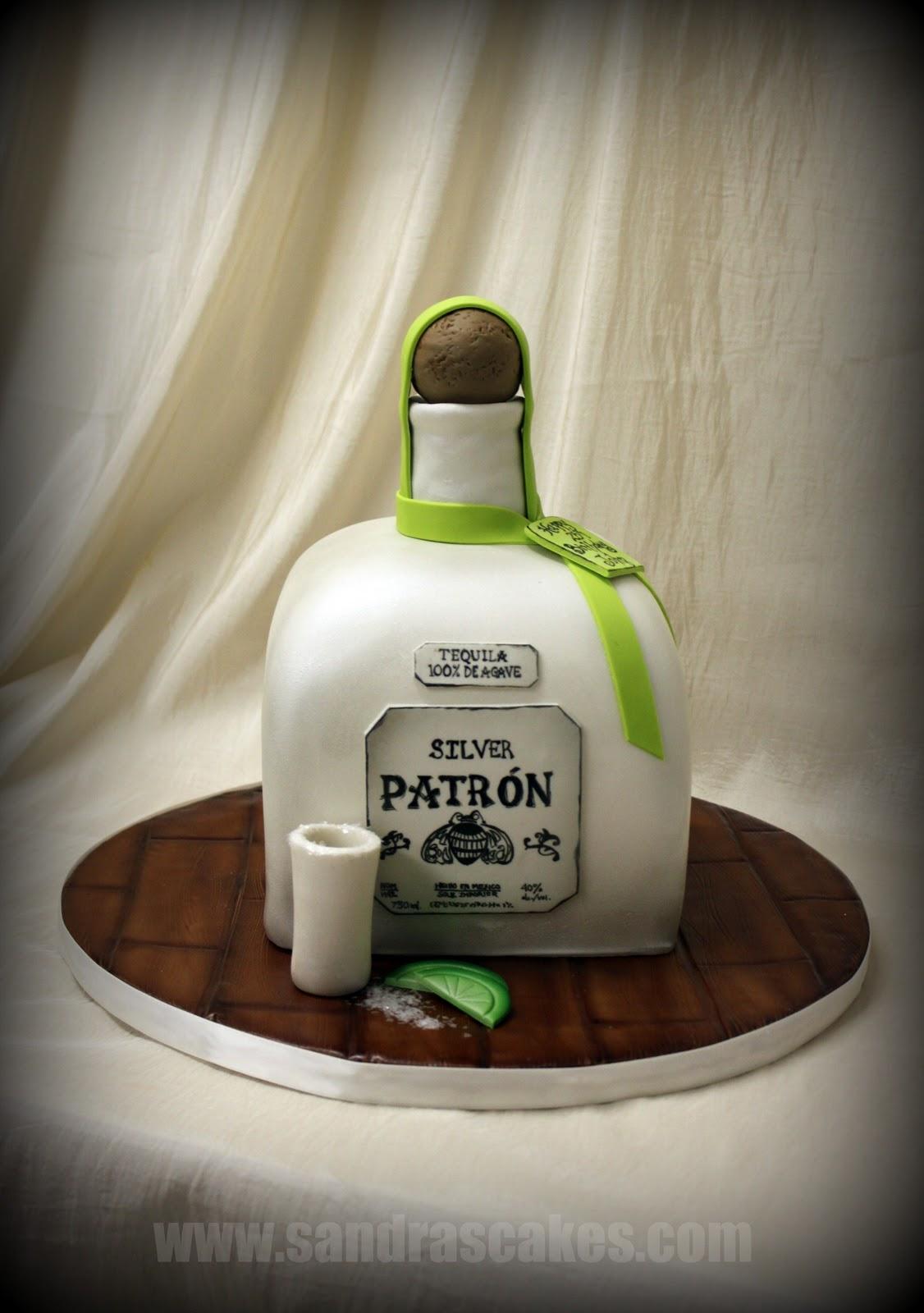 On Birthday Cakes Patron Birthday Cake - Patron birthday cake