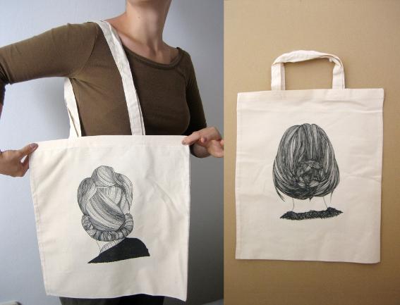 Cosas de palmichula bolsas de tela simples y originales for Disenos de bolsos de tela