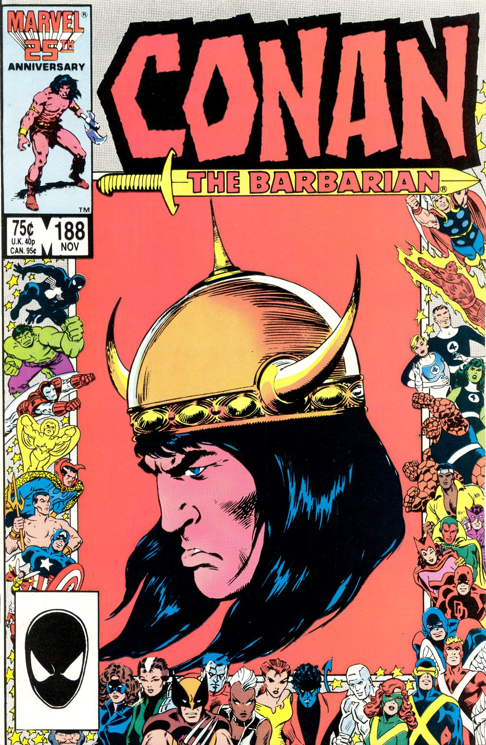 Conan the Barbarian (1970) Issue #188 #200 - English 1