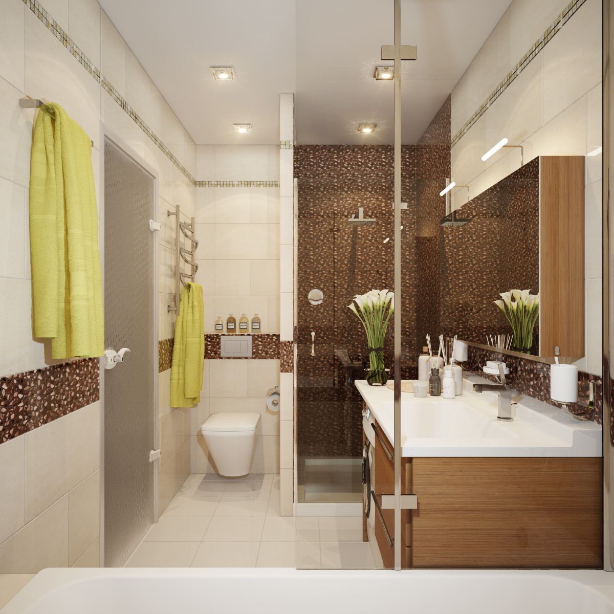 Bathroom Visualization By Happy Irena Interior Design And Visualization Portfolio Happy Irena