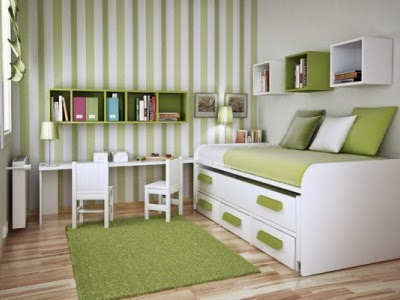 Design Ideas with Green Bedroom