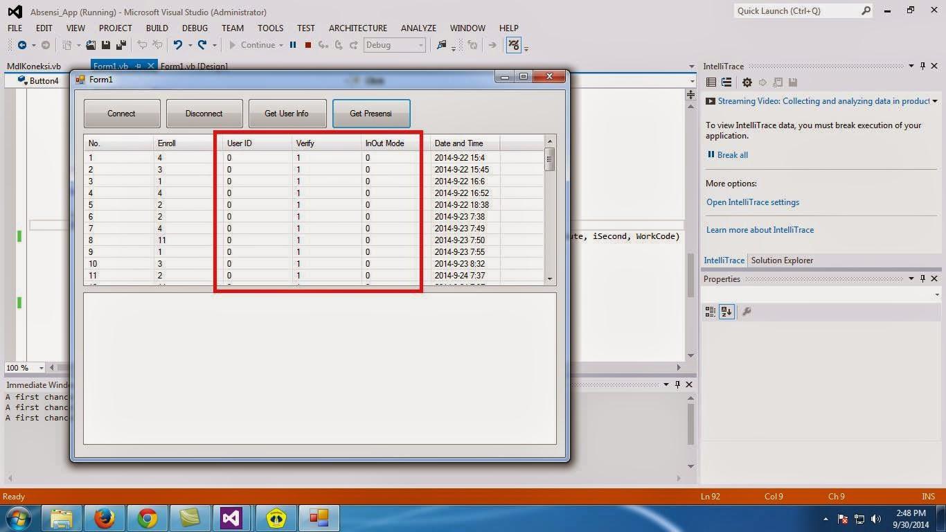 NTNS (New Trip New Story): Pembahasan Fingerprint dari Programmer VB