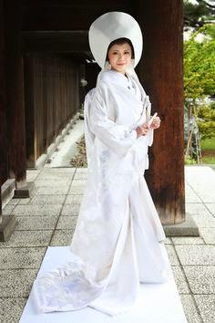 vestido de novia japones tradicional