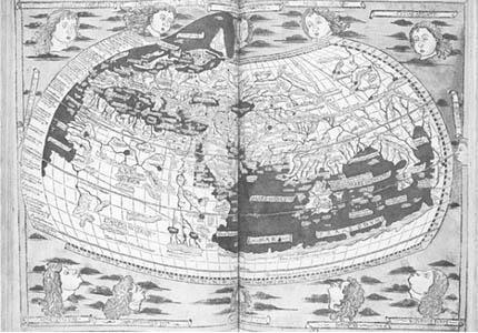 Buku kartografi yang ditulis oleh Ptolemaeus