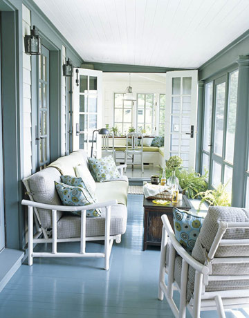 Ms lazybones the morning man wishful wednesdays for Sun porch ideas