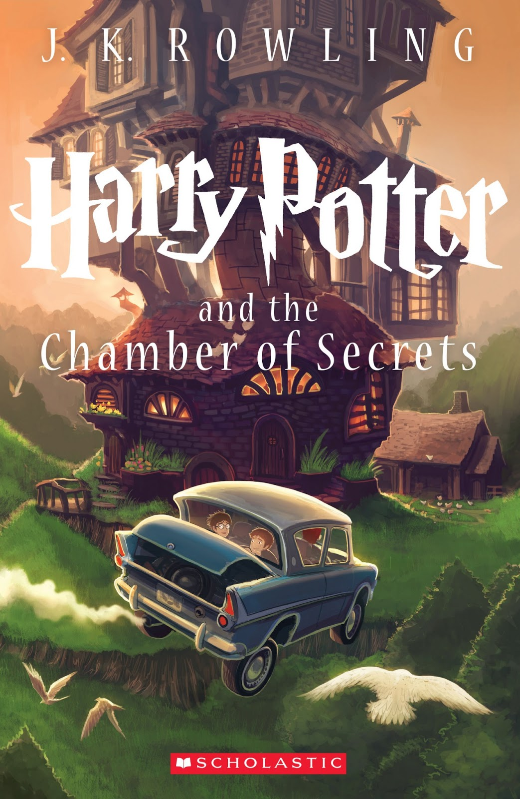 The new book cover of harry potter amp the chamber of secrets