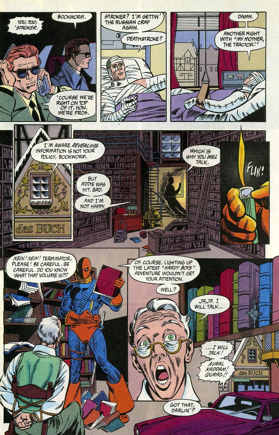 Deathstroke (1991) Issue #2 #7 - English 17