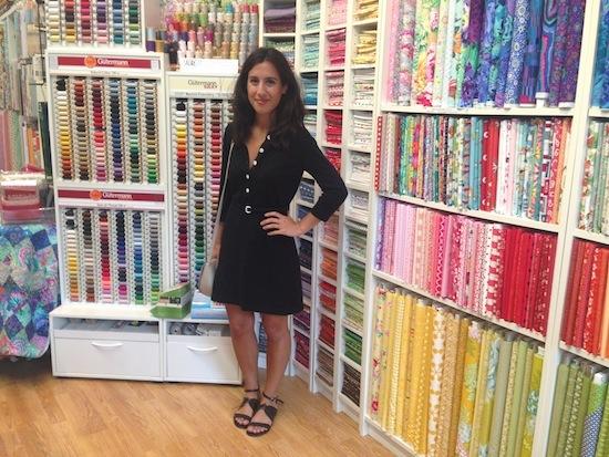 MessyJesse - a quilt blog by Jessie Fincham: Tikki Patchwork, London : quilt shops london - Adamdwight.com