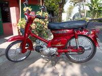 motor merah