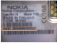 Battery behind IMEI How to Find IMEI number of Mobile Phone2
