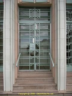 Turramurra front door detail
