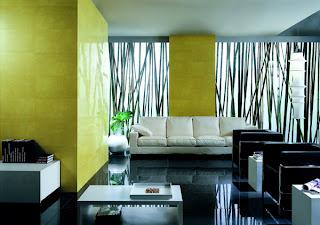 sala moderna com estilo oriental