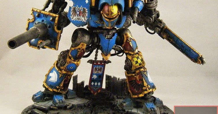 smells like wargaming 4 19 14 finished house terryn imperial knight paladin. Black Bedroom Furniture Sets. Home Design Ideas