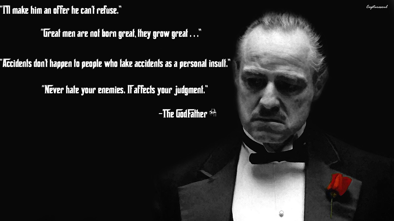 Friendship Quotes Godfather : Quotes from the godfather quotesgram