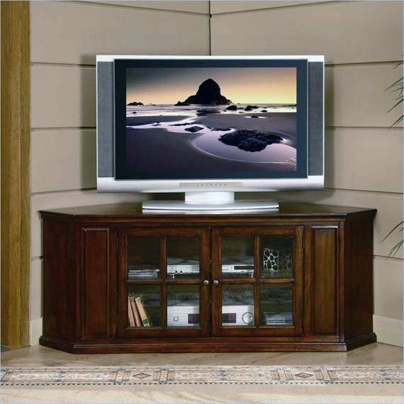 Corner TV Stand For 60 Flat Screens AyanaHouse