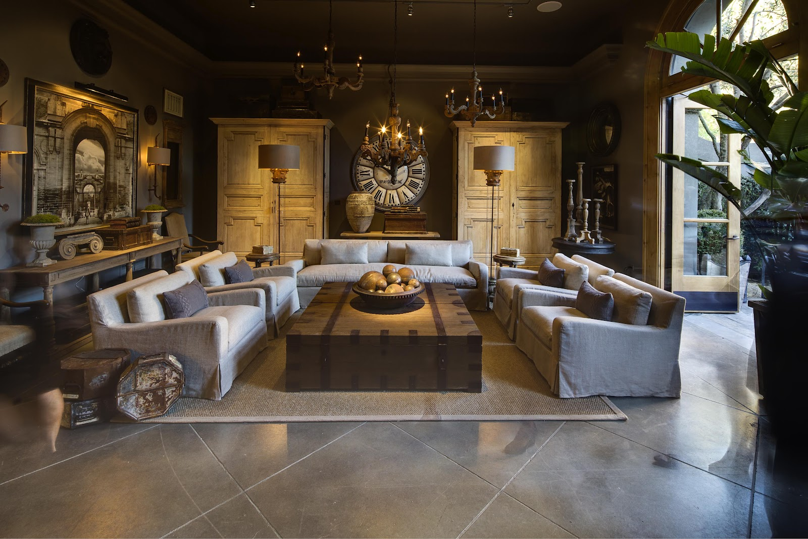 The Polished Pebble: Restoration Hardware: Ceo Gary Freidman's House In San  Francisco