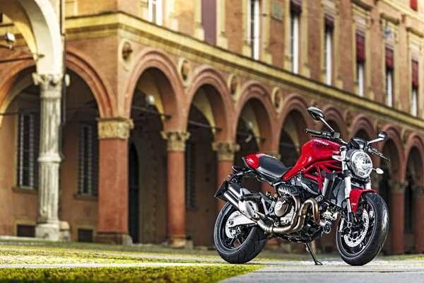 Gambar Foto Ducati Monster 821 Motor Sport Garang Sporty