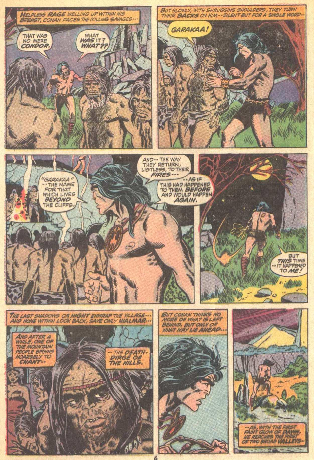 Conan the Barbarian (1970) Issue #9 #21 - English 6