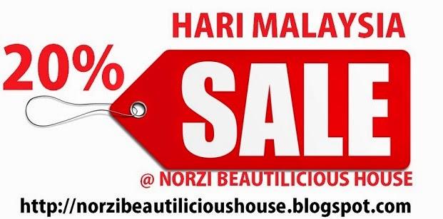 SALE 20% SEMPENA HARI MALAYSIA