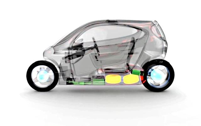 voiture du futur lit motors c1 le smartphone sur deux roues. Black Bedroom Furniture Sets. Home Design Ideas