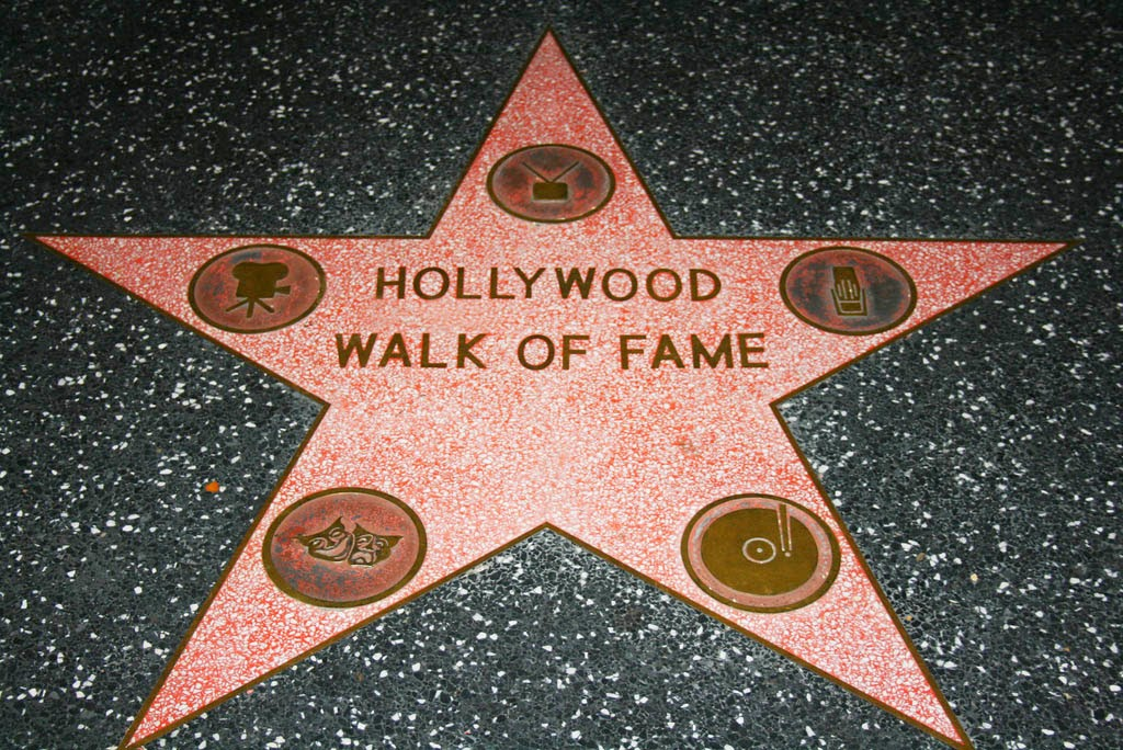 Hollywood Walk of Fame...And the Honorees Are.....